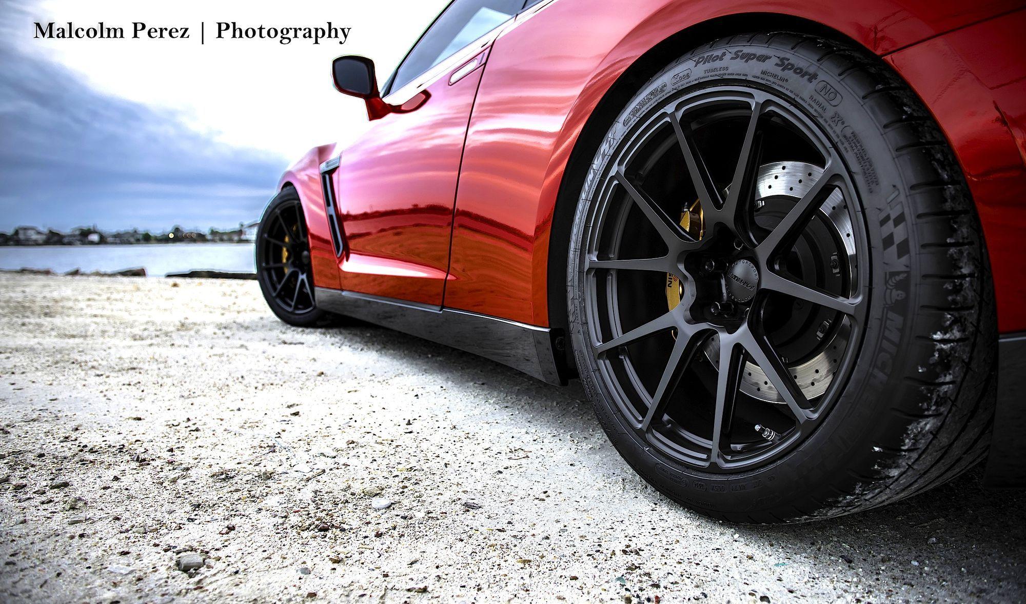 2014 Nissan GT-R | Tanner's GT-R on Forgeline GA1R Open Lug Cap Edition Wheels