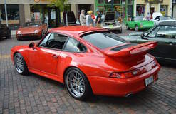 Steve Leiding's Porsche 993 C4S on Forgeline DE3P Wheels