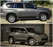 Before and After: Lexus GX460 on Forgeline VR3P Wheels