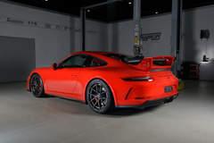 Harrop Engineering's Porsche 991 GT3 on Forgeline Carbon+Forged CF201 Wheels