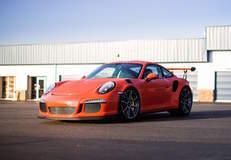 Seth Thomas' Porsche 991 GT3RS on Forgeline One Piece Forged Monoblock GE1 Wheels