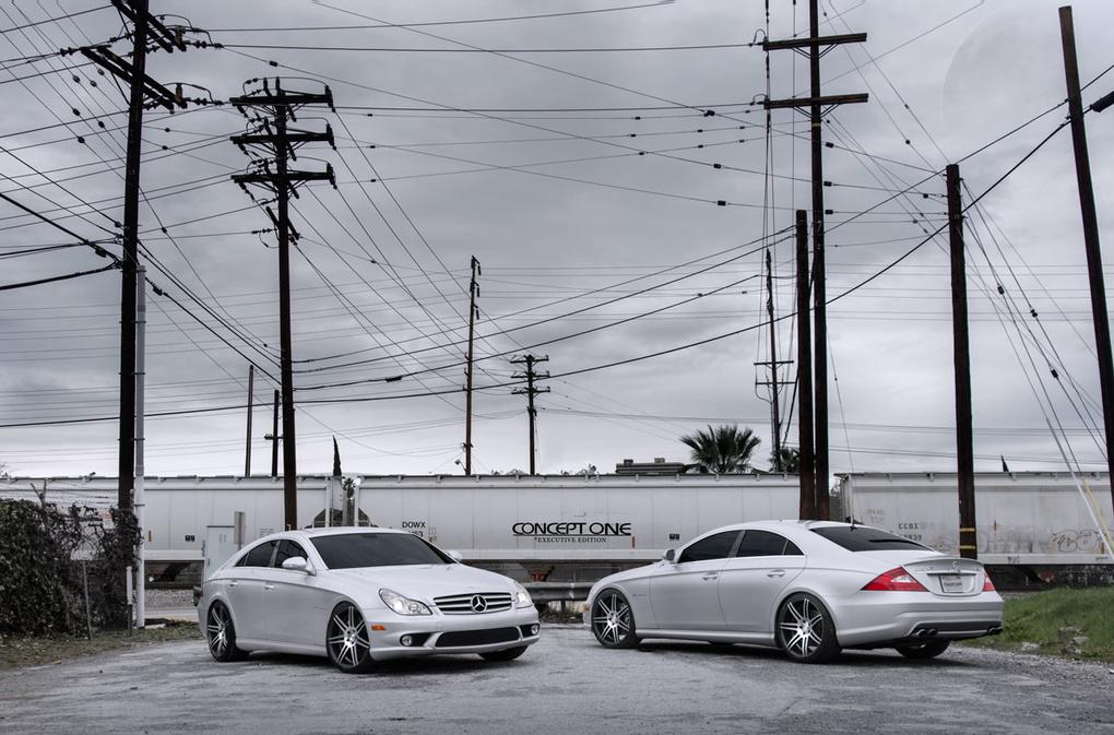 2011 Mercedes-Benz CL-Class | 2011 Mercedes-Benz CLS55 on Concept One CSM7's