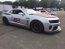 Jordan Priestly's JDP Motorsports Camaro on Forgeline GA1R Open Lug Cap Edition Wheels