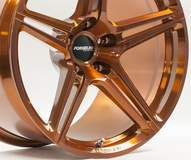 Forgeline One Piece Forged Monoblock SC1 Extra Deep Cap in Transparent Copper