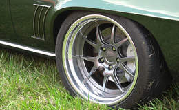 Chris Kinker's Fathom Green '69 Camaro on Forgeline GA3 Wheels