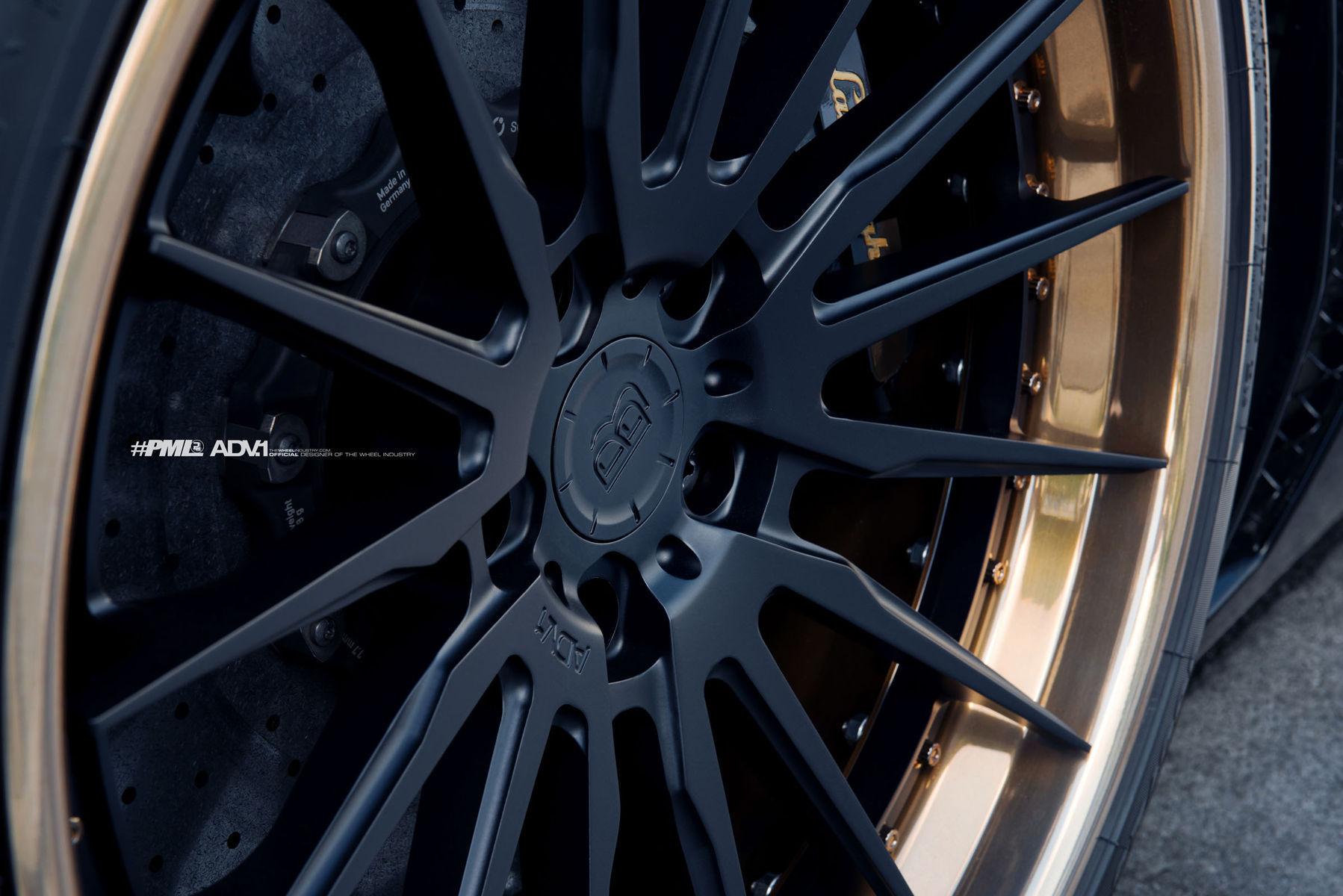 Lamborghini Aventador   Ben Baller's ADV.1 Wheels Lamborghini Aventador by Platinum Motorsport
