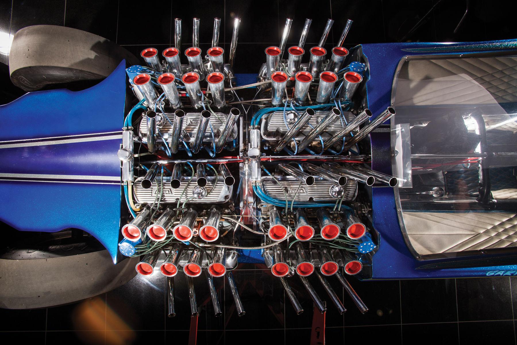 Ford  | Gary Weckesser's Mach IV 4 Engine Mustang Overhead