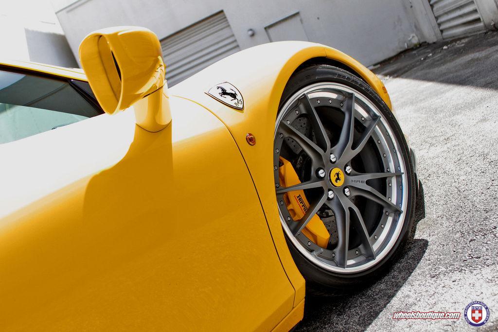 Ferrari 458 Italia   Ferrari 458 on HRE S104