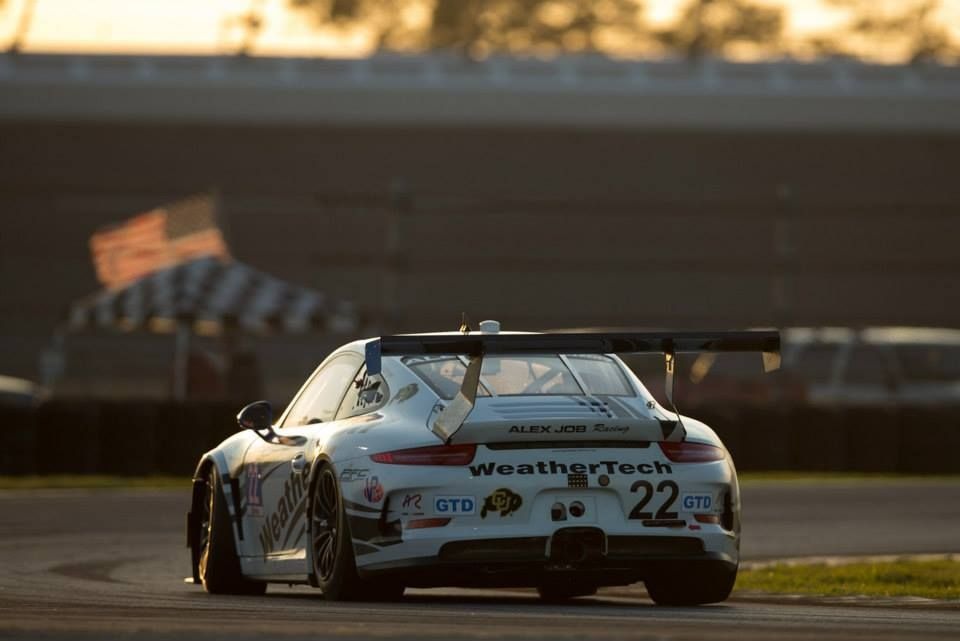 2015 Porsche 911 | WeatherTech Alex Job Racing #22 GTD Porsche on Forgeline One Piece Forged Monoblock GTD1 Racing Wheels