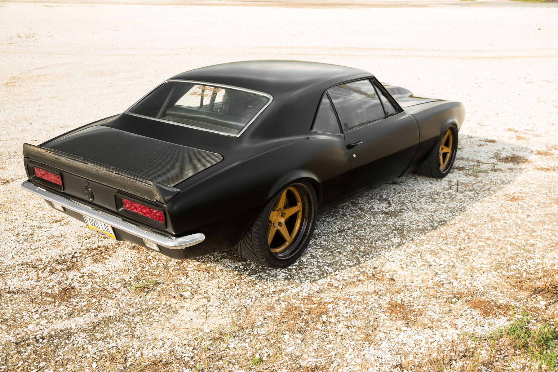 1967 Chevrolet Camaro | Steve Hummel's '67 Camaro on Forgeline FF3C Concave Wheels