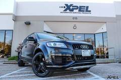 Audi Q7 with XPEL ULTIMATE self-healing clear bra