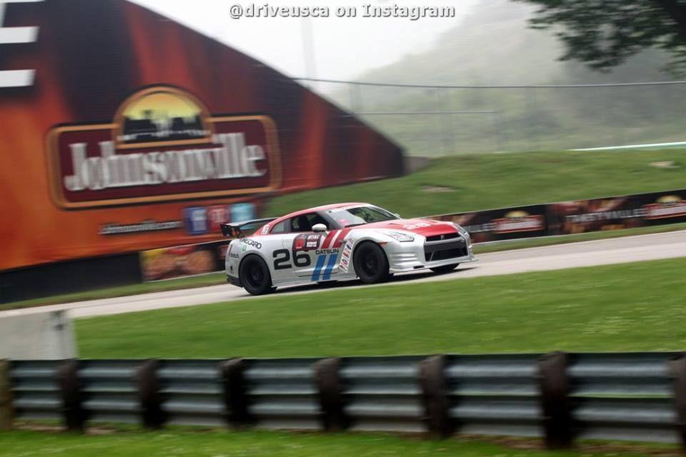 2013 Nissan GT-R | Steve Kepler's Nissan GT-R on Forgeline GZ3 Wheels at Road America