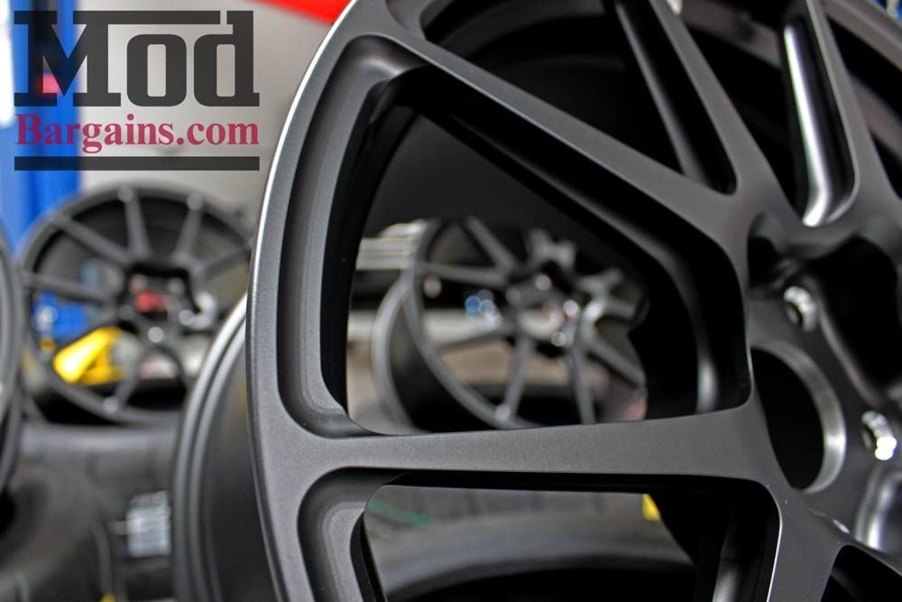 | Forgeline One Piece Forged Monoblock GA1R Open Lug Wheel for Corvette C7 Track Application