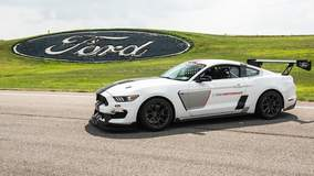 Ford Mustang FP350S on Forgeline One Piece Forged Monoblock GS1R Wheels
