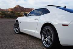 Josh Sleigh's 2010 Camaro SS on Forgeline One Piece Forged Monoblock GA1R Open Lug Cap Edition Wheels