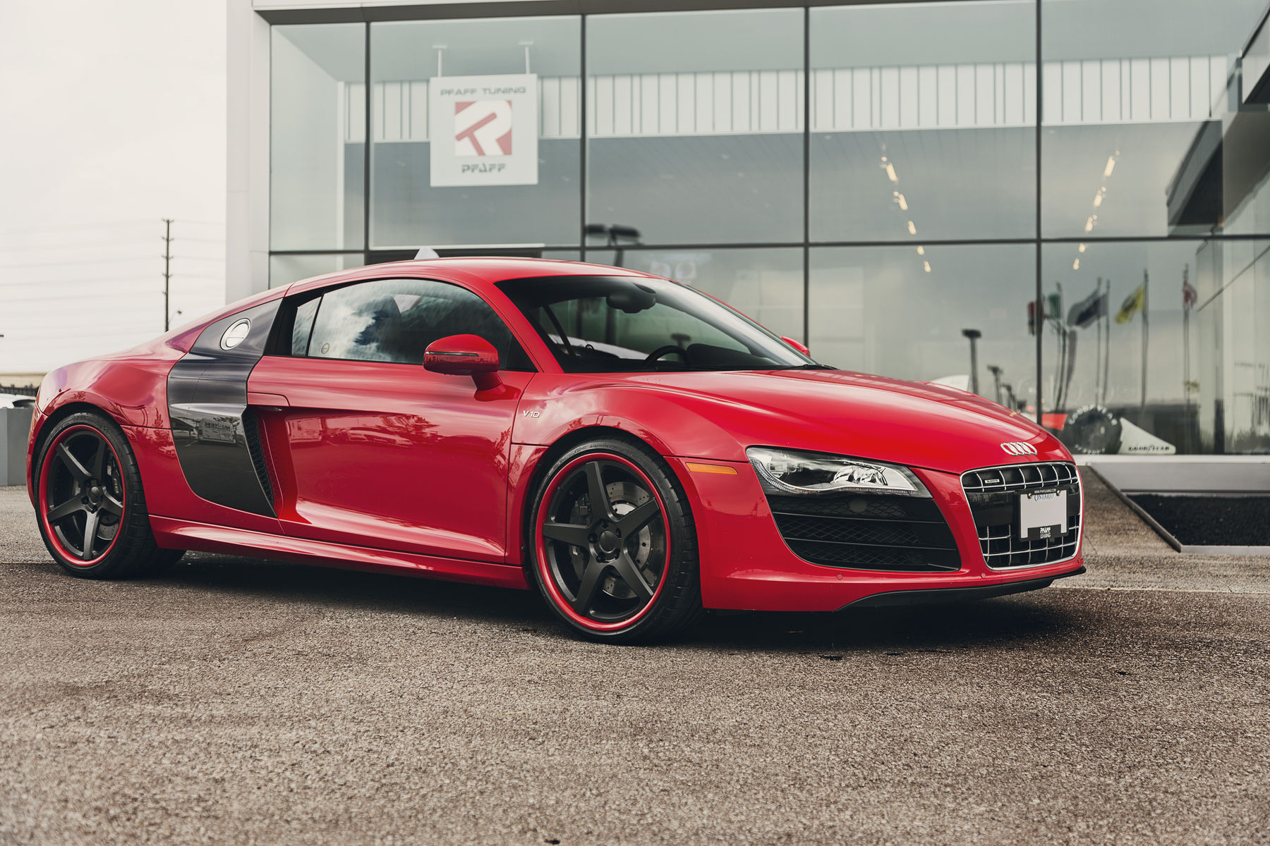 2010 Audi R8 | Audi R8 V10 by Pfaff Tuning on Forgeline CF3C Wheels