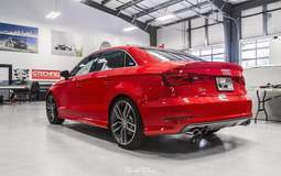 Audi S3 in for XPEL ULTIMATE