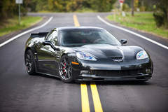 Eric McClellan C6 Corvette Z06 on Forgeline One Piece Forged Monoblock GTD1 5-Lug Wheels