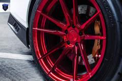 White Nissan GTR - Wheel