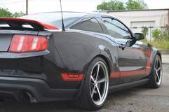 Dale Oakes' 2012 Mustang Boss 302 Laguna Seca Edition on Forgeline Heritage Series FL500 Wheels