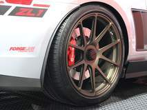 "Roadster Shop's ""Apex"" ZL1 Camaro on Center Locking Forged Monoblock Forgeline GA1R Wheels"
