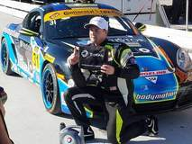 Jason Rabe Wins IMSA CTSC ST Class Pole at Road Atlanta in the #31 Bodymotion Racing Porsche Cayman on Forgeline GA3R Wheels