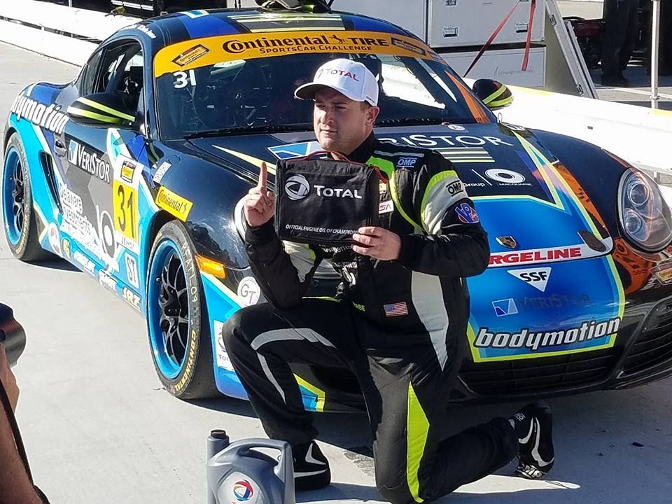 2016 Porsche Cayman | Jason Rabe Wins IMSA CTSC ST Class Pole at Road Atlanta in the #31 Bodymotion Racing Porsche Cayman on Forgeline GA3R Wheels