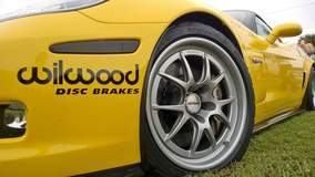 Wilwood's C6 Z06 Track Toy on Forgeline GA3R Wheels