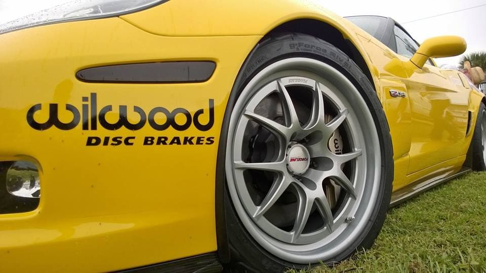 2012 Chevrolet Corvette | Wilwood's C6 Z06 Track Toy on Forgeline GA3R Wheels