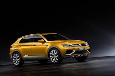 VW Cross Blue Coupe Concept