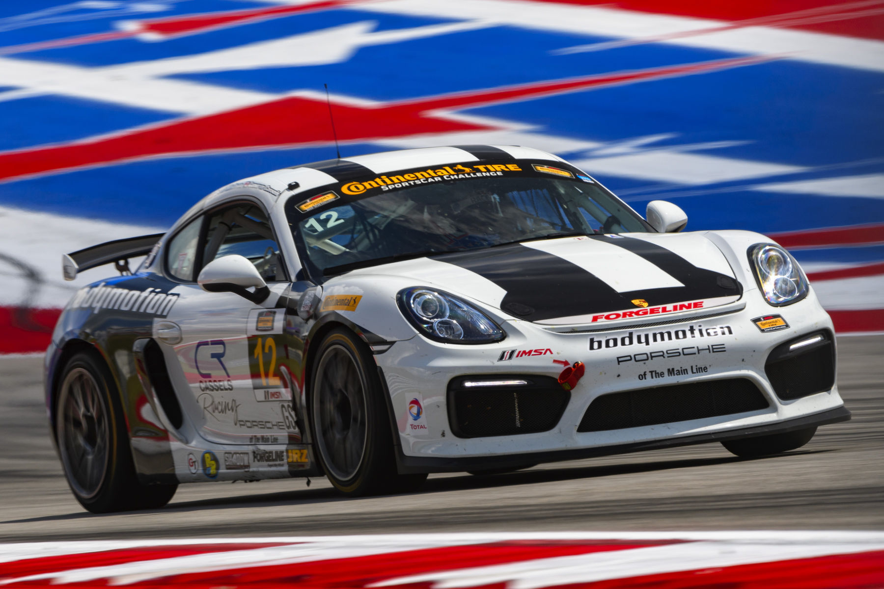 2016 Porsche Cayman | Forgeline Teams on the IMSA CTSC Podium at Circuit of the Americas