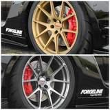 Forgeline One PIece Forged Monoblock GA1R Deep Cap Wheels on Doug Washburn's Nissan GT-R