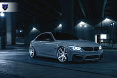 BMW M4 - Grey Passenger Side Angle