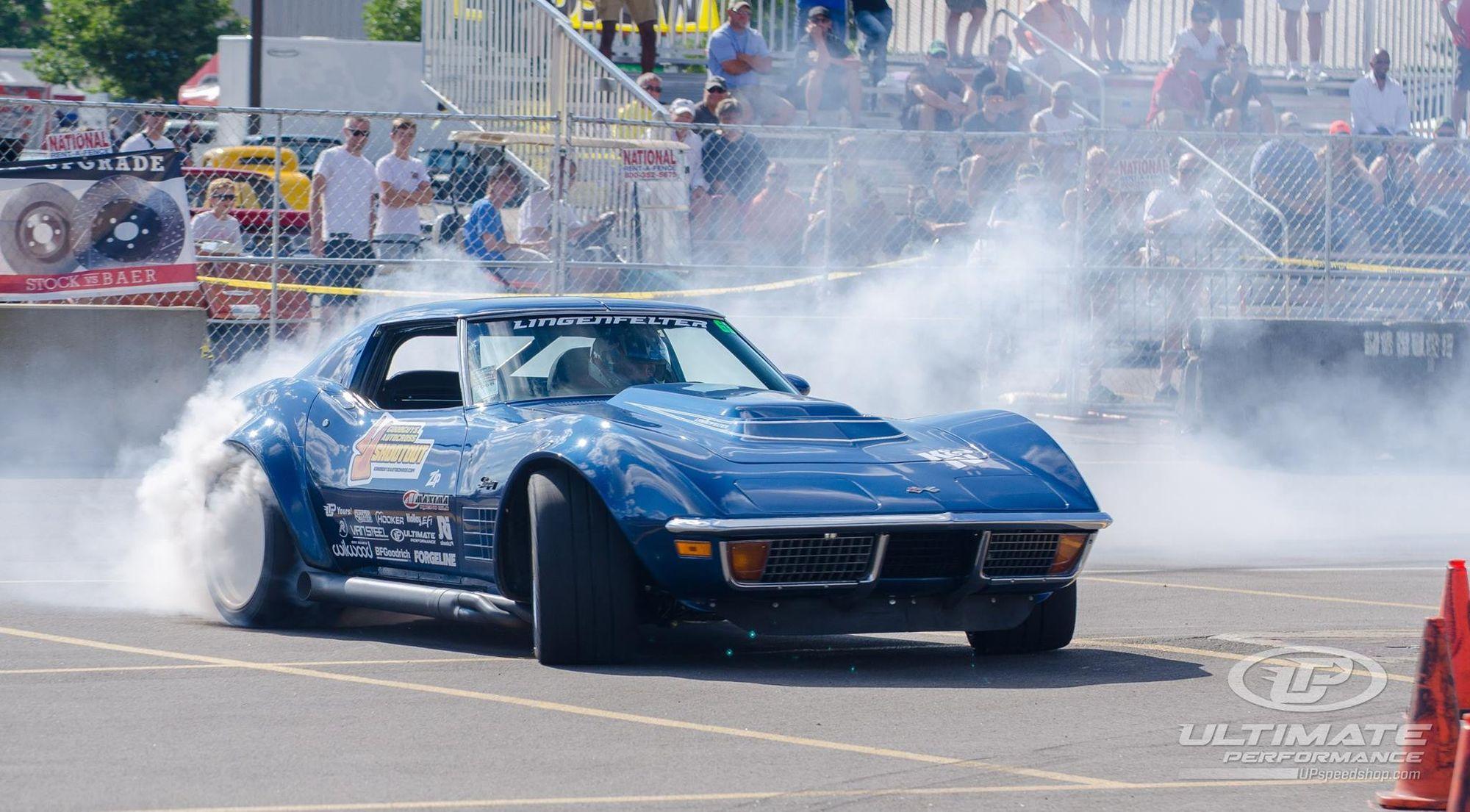 1972 Chevrolet Corvette Stingray | Danny Popp Wins 2017 Goodguys PPG Nationals Sponsor Shootout with '72 Corvette on Forgeline GA3R Wheels