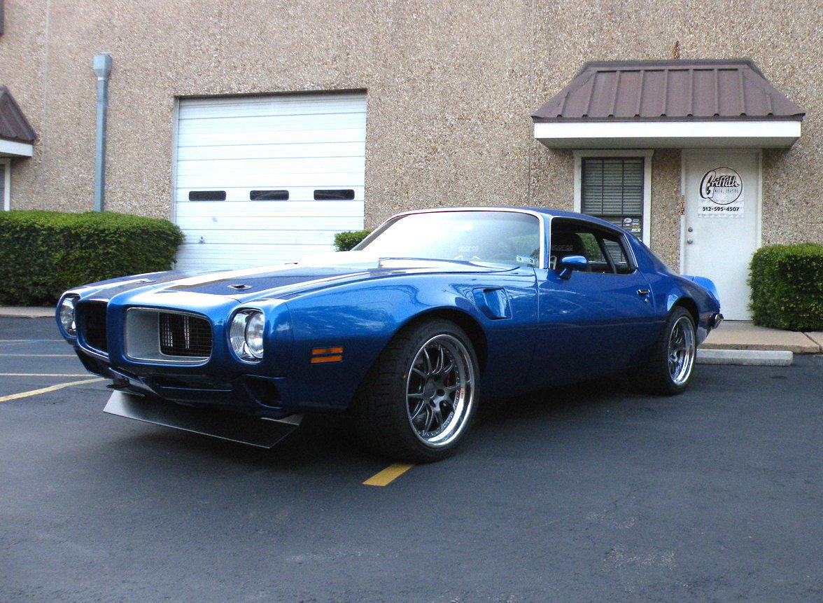 1972 Pontiac Firebird | Trans Am on Forgeline GA3 Wheels