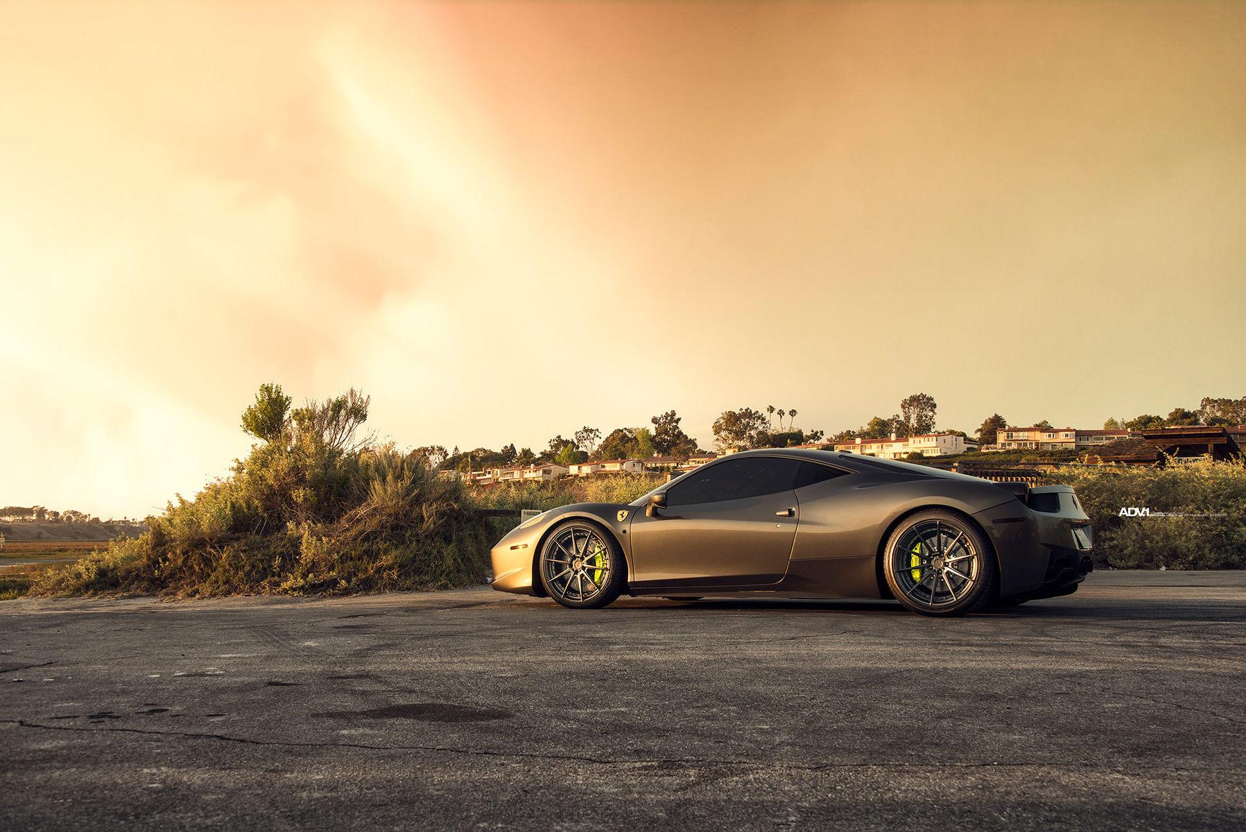 Ferrari 458 Italia | Ferrari 458 Italia - ADV1 ADV10 M.V2 SL Series Wheels