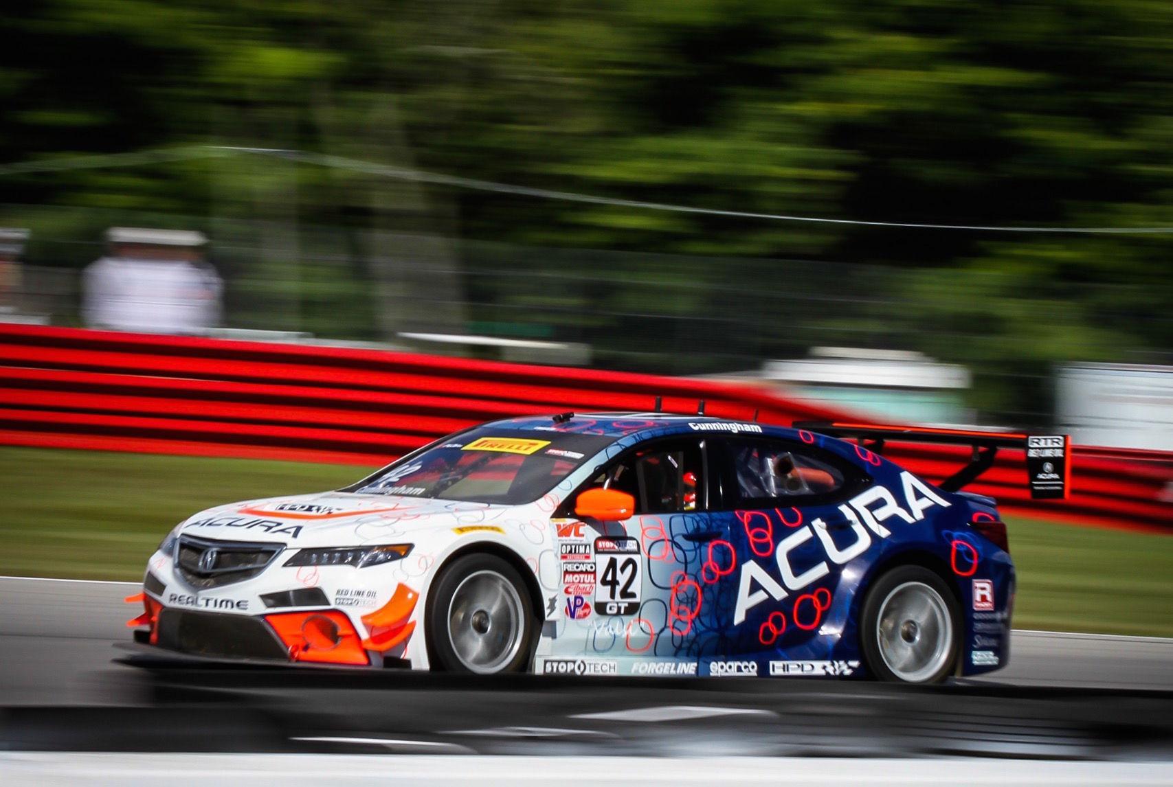 Acura TLX | RealTime Racing at Mid-Ohio 2015