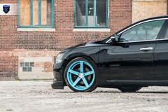 Black Nissan Maxima - Front Left Wheel
