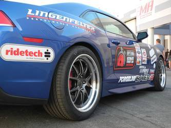 2010 Chevrolet Camaro | Lingenfelter's L28 Camaro on Forgeline GA3 Wheels at the 2014 SEMA Show