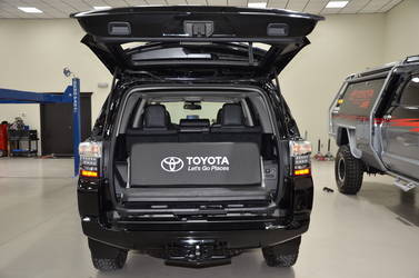 2014 Toyota 4Runner | N-FAB TRD PRO Build - Toyota 4-Runner Trunk Space