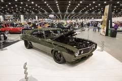 """G3 Rods' """"T-Rex"""" '69 Camaro on Forgeline SP3P Wheels at 2016 Detroit Autorama"""
