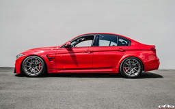 Roy Gutierrez' BMW F80 M3 on Forgeline One Piece Forged Monoblock GS1R Wheels