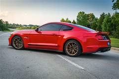 """Don Creason's """"Project 5-Liter Eater"""" Ford S550 EcoBoost Mustang on Forgeline One Piece Forged Monoblock GS1R Wheels"""