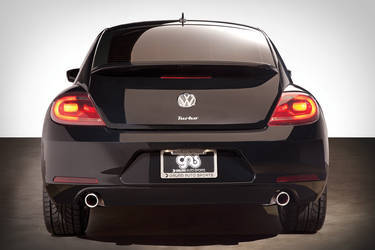 2013 Volkswagen Beetle | Chopped Beetle Rear