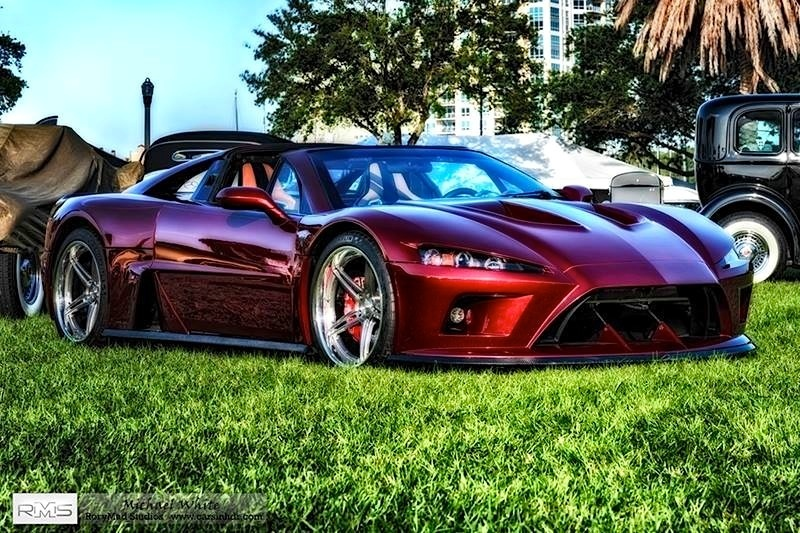 2014 Falcon F7 | The Falcon F7 All-American Supercar on Forgeline SC3C Concave Wheels - Sitting Pretty