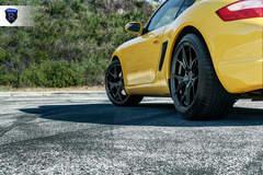 Yellow Porsche Boxster - Stance