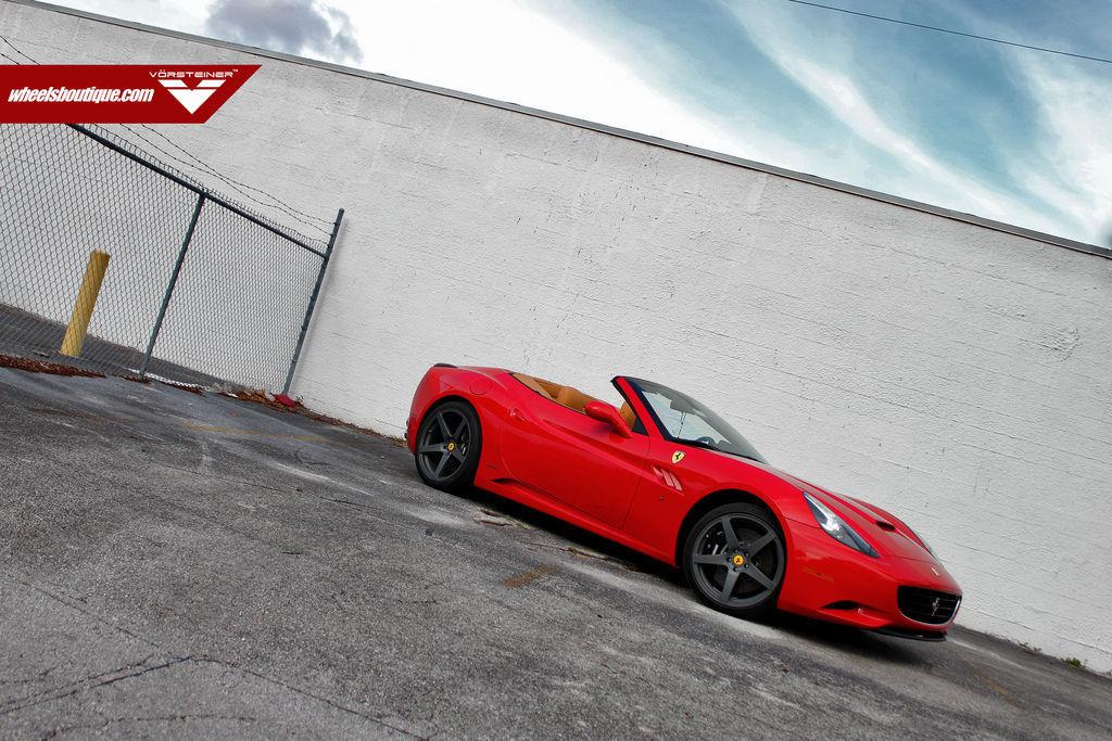 Ferrari 458 Italia | Ferrari Califonia on Vorsteiner on VSC-102