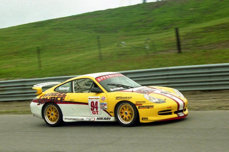 2000 Porsche 911 | David Schardt's Porsche Cup Car on Forgeline WC3 Wheels at Mosport 2000