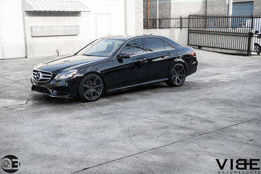 Mercedes E350 on Vertini Dynasty - A Project By Team Vibe