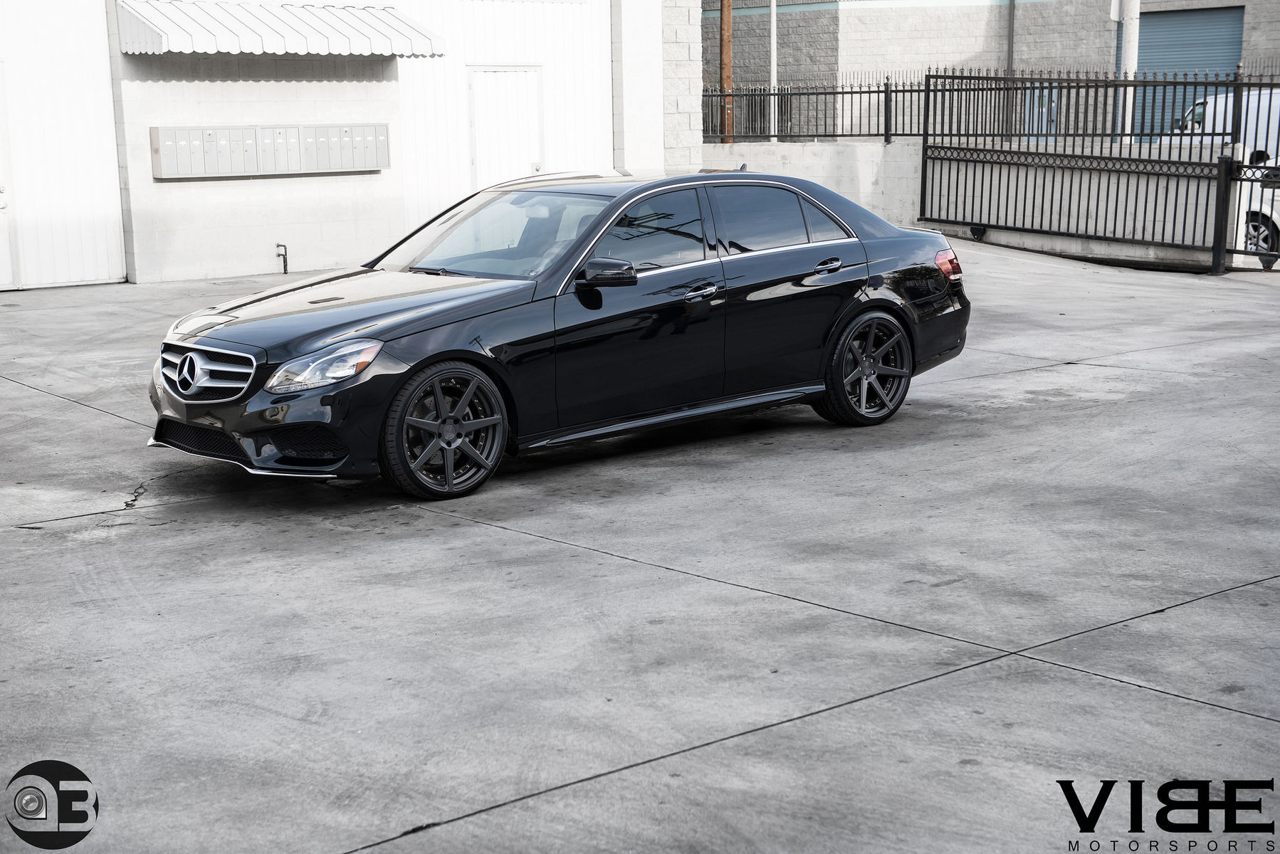 Mercedes-Benz E-Class | Mercedes E350 on Vertini Dynasty - A Project By Team Vibe
